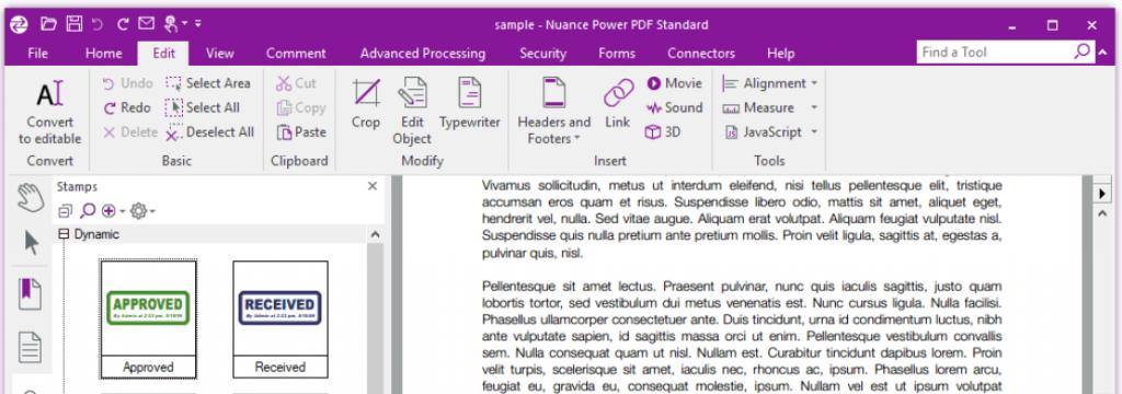 Nuance Power PDF 3 Enhances Work Productivity