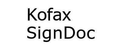 Kofax Sign Doc